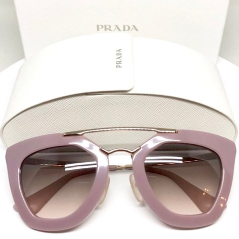 90eb84d6fde ... best price prada cinema opal pink sunglasses in like new condition. and  depop b1337 ff967