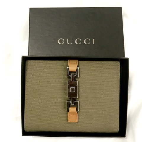 0d5817b507d Vintage Gucci Jackie Bifold wallet with coin pocket