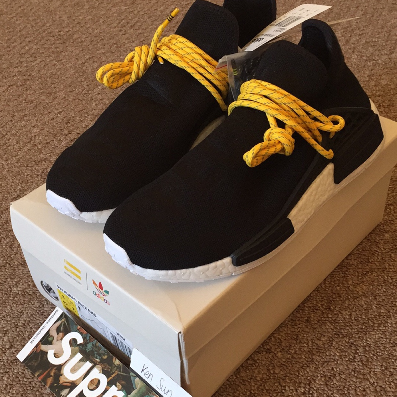 hot sale online 0a75e b3903 NMD PW Human Race - Black US8 UK7.5. Brand new in ...