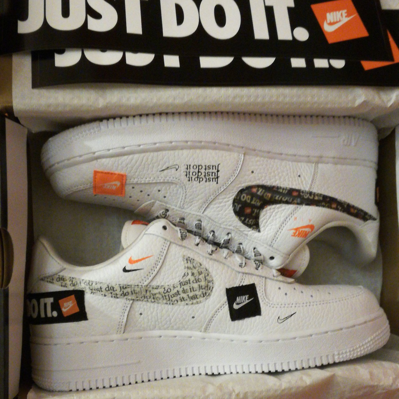 Nike Air Force 1 just do it premium. Brand new never Depop
