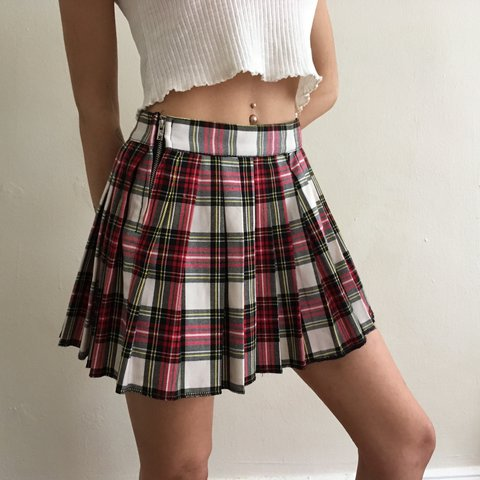 6400540d3d5f @nikitakesh. 2 years ago. New York, United States. TRIPP NYC 🌹 red plaid  school girl pleated skirt 🌹 marked size small ...