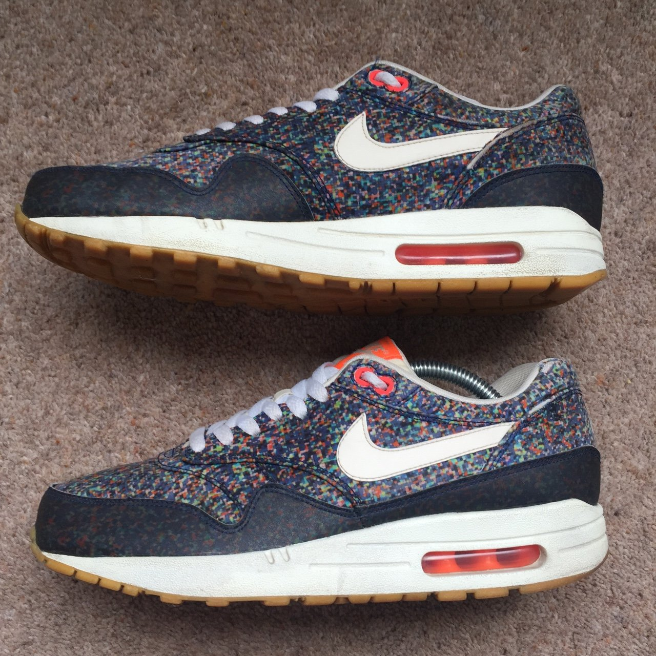 promo code 20b79 e11f2 2013 Nike X Liberty of London Air Max 1 Pixel Pack UK 8 7 10 - Depop