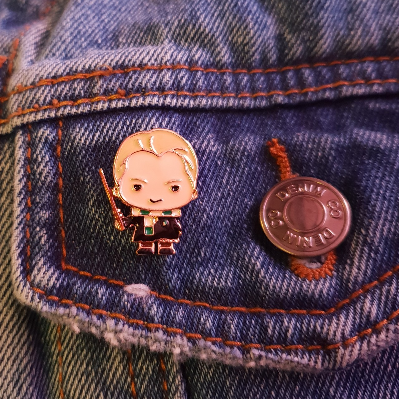 Pin Draco Malfoy Harry Potter