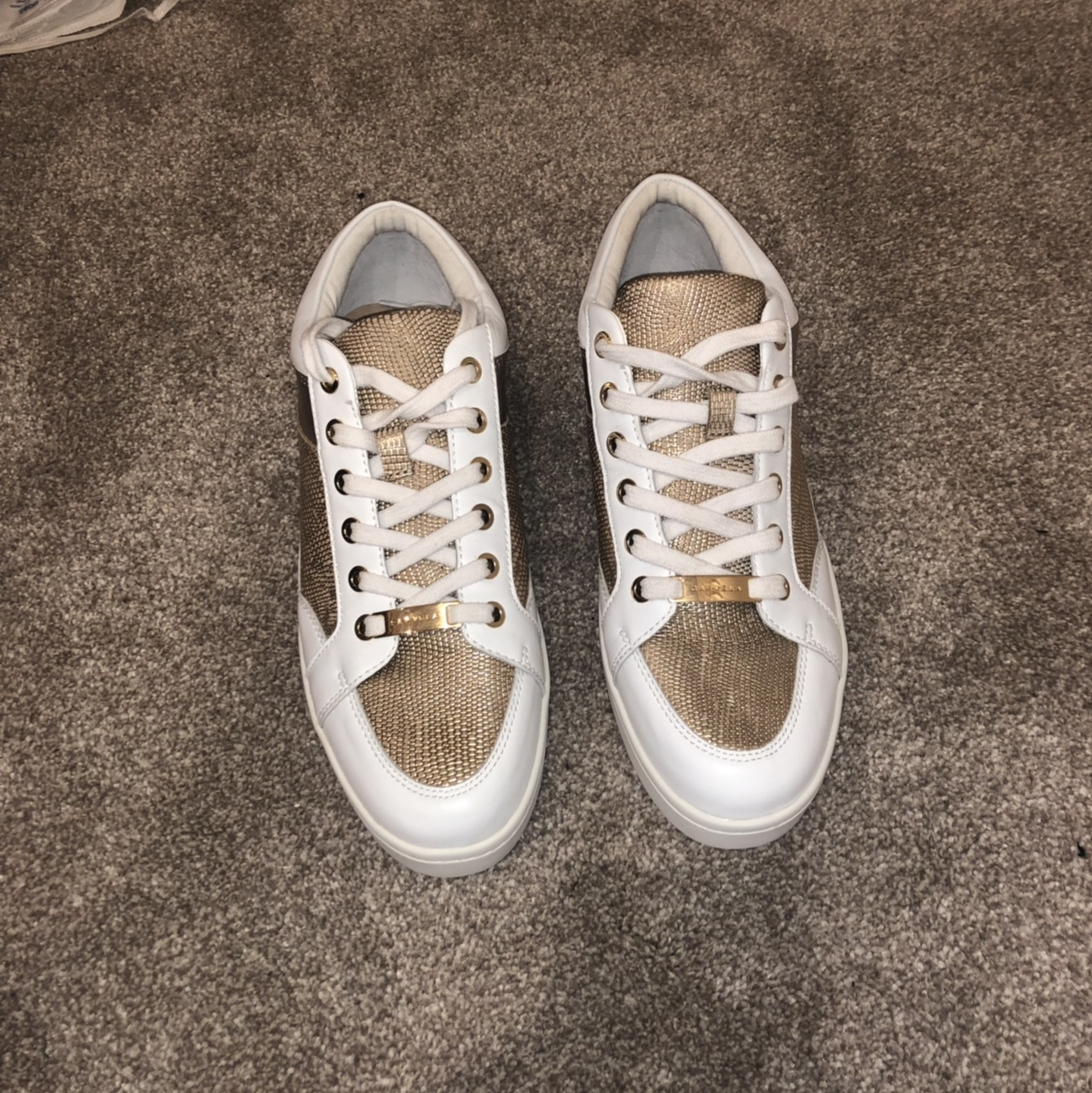 free shipping look out for top-rated newest Carvela Legacy Lace-Up Trainers, White NEVER BEEN... - Depop