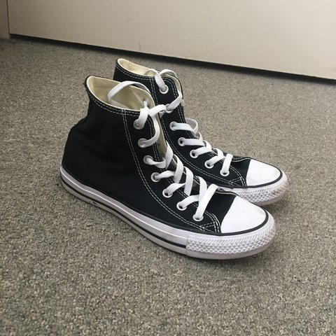 6ee2f331cb89 Converse classic chuck Taylor all stars high top sneakers. A - Depop