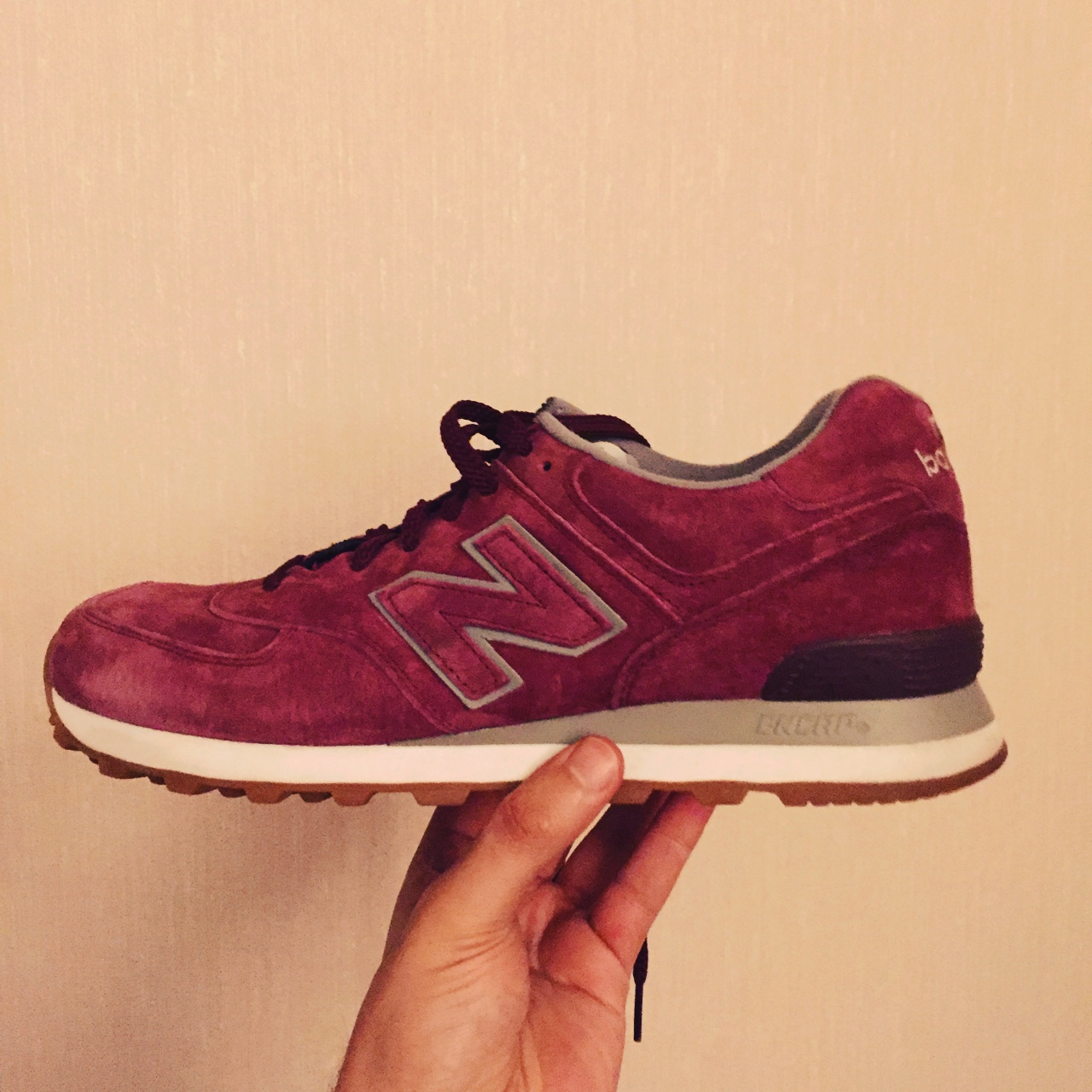 new balance 574 gum pack