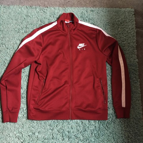 new style 758ee f3aa8 Nike Air Limitless Track Jacket Burgundy 8 10- 0
