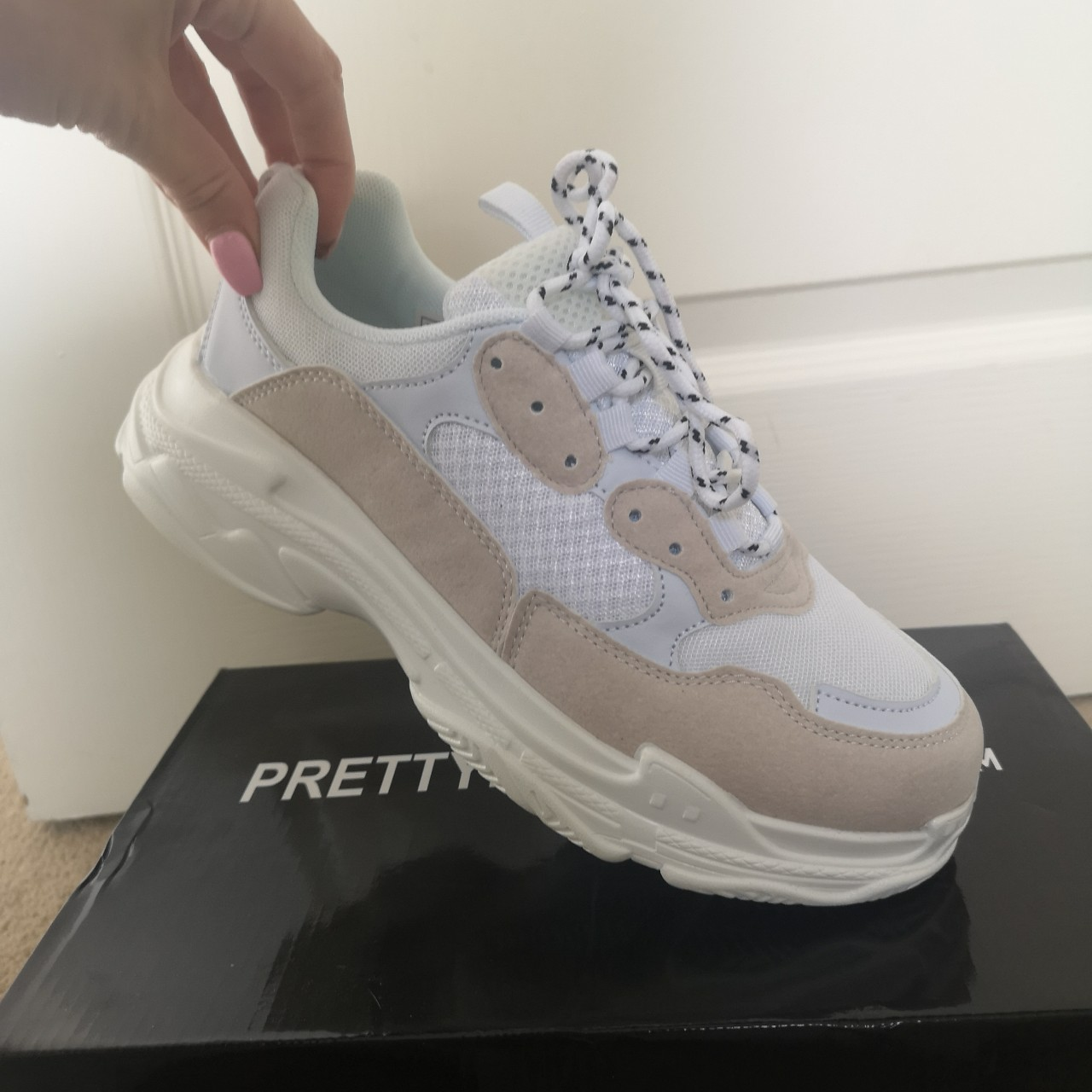 thing chunky trainers worn once