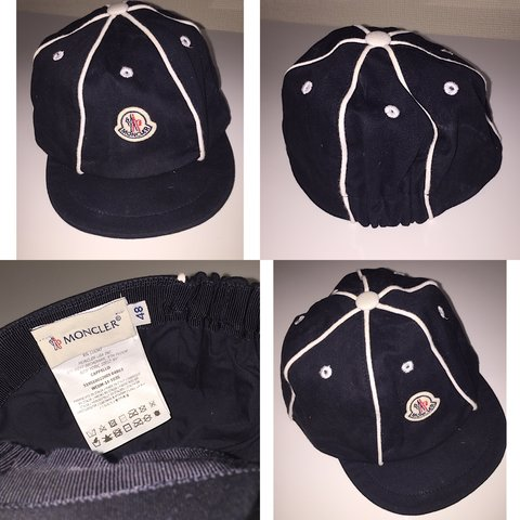 ef68eff6 Genuine moncler baby boy cap. Bought from child's play for I - Depop