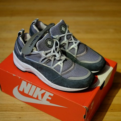 026f58c30ad9 Footpatrol x Nike Air Huarache Light  Concrete  100% ships - Depop