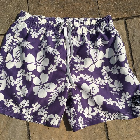 71c864afa4 men's size xl swim trunks -island haze -never - Depop