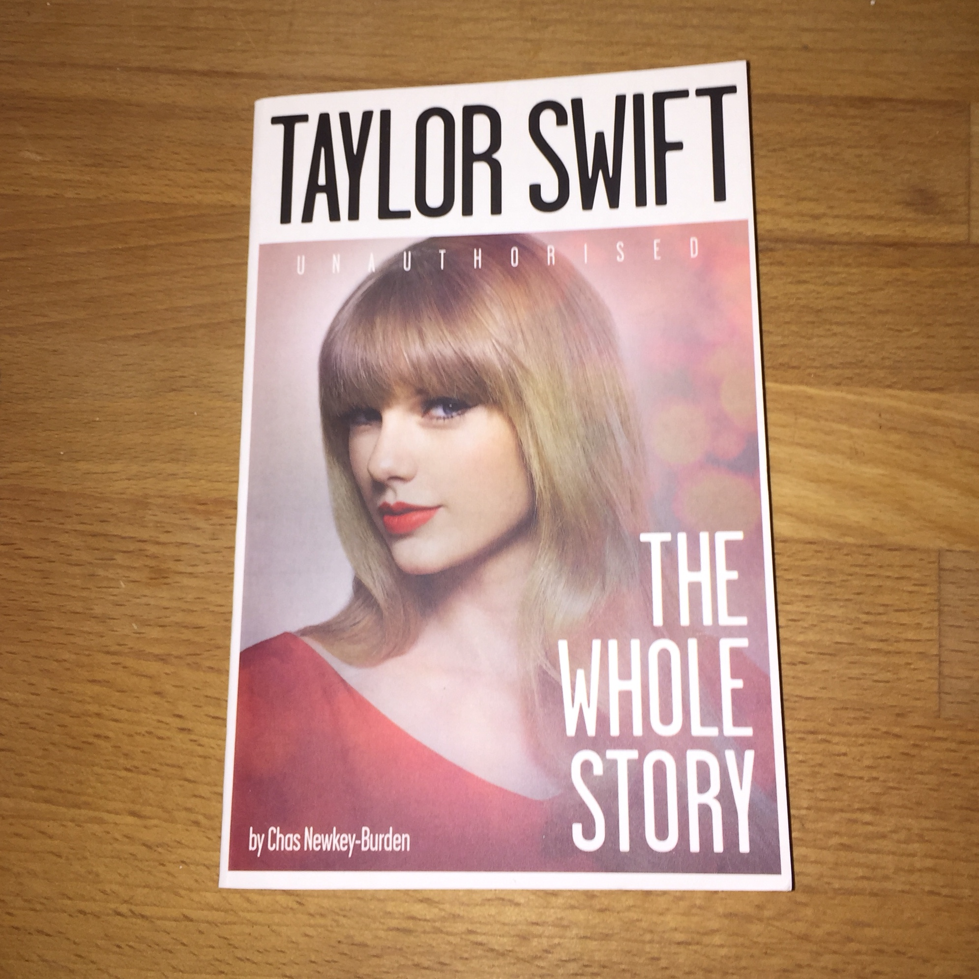 Taylor Swift The Whole Story By Chas Newkey Burden Depop