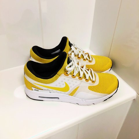 new style 023bf 854bd  balogoonjr. 2 years ago. Birmingham, United Kingdom. NIKE AIR MAX ZERO ( Yellow ...