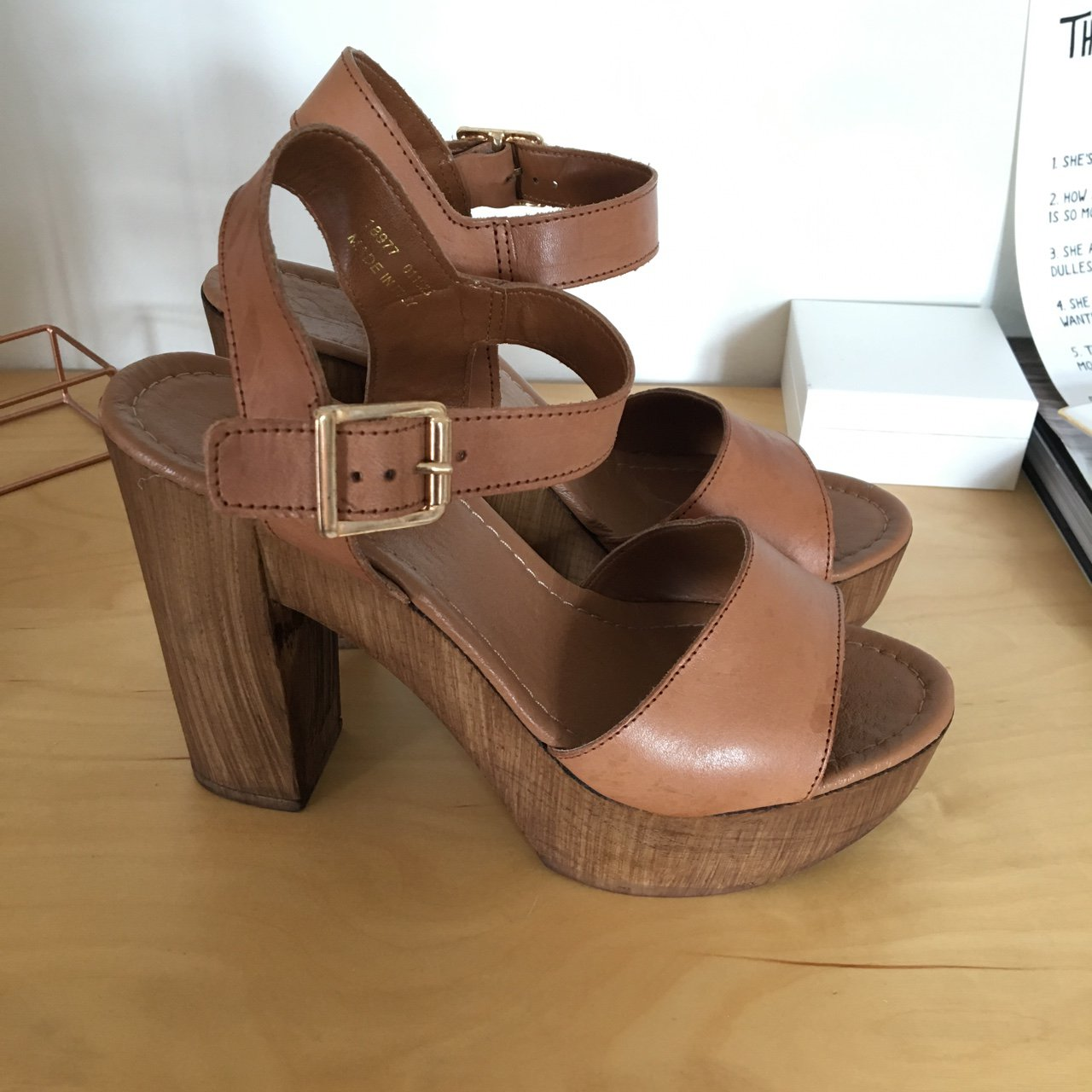 d2cd9640065 Office heeled sandals. Really comfy