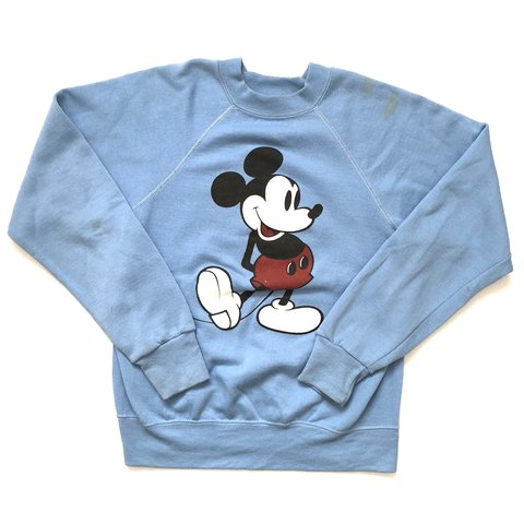 6e5945742 @vintageisbetter. 10 months ago. Riverside, United States. Vintage 80s Mickey  Mouse sweater. Front print only.