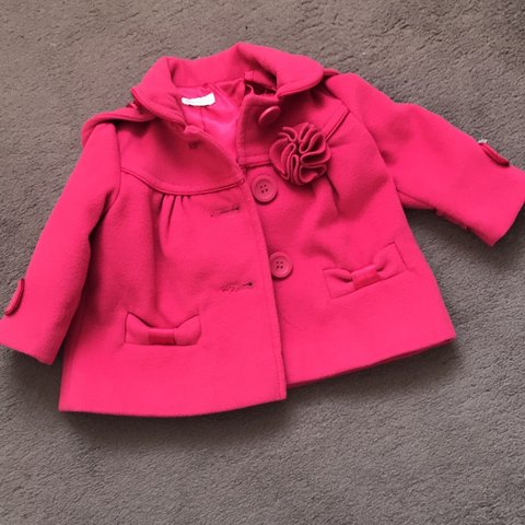 a1885ce46 @fayyfayy. 11 months ago. Leicester, United Kingdom. Monsoon Baby Girl Coat.
