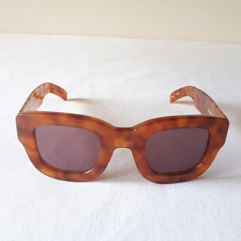 ef4f58a394 I LOVE UGLY SUNGLASSES THE ISSAC WORN ONCE PERFECT BANGERS - Depop