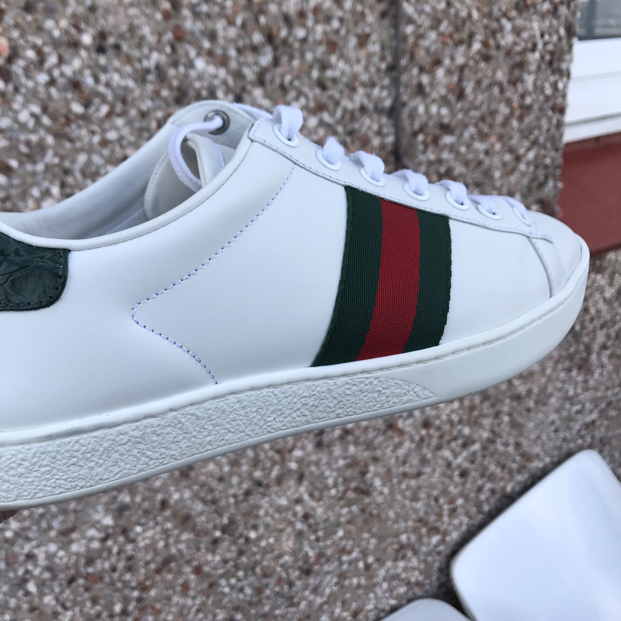 Pair a gucci ace trainers for sale