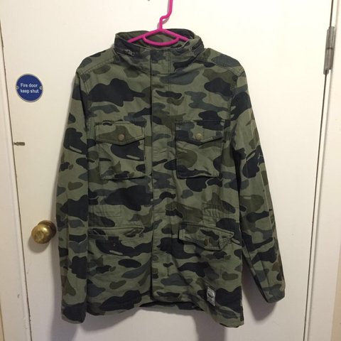 d66eea5522cdc H & M and Divided ( Collab ) , Vintage Military Print CAMO - Depop