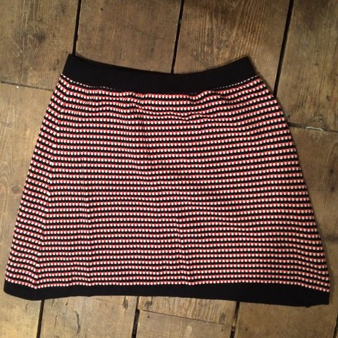 dcdbee8af @rach_murray. 3 years ago. Brighton, UK. ZARA black and red knitted skirt!!