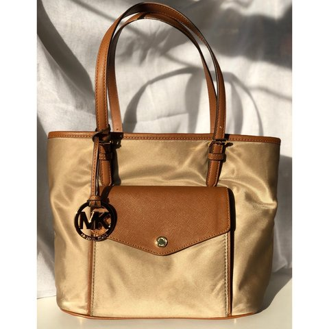 95c76c156759 Reduced   Michael Kors Medium Jet Set Nylon Colour with   - Depop