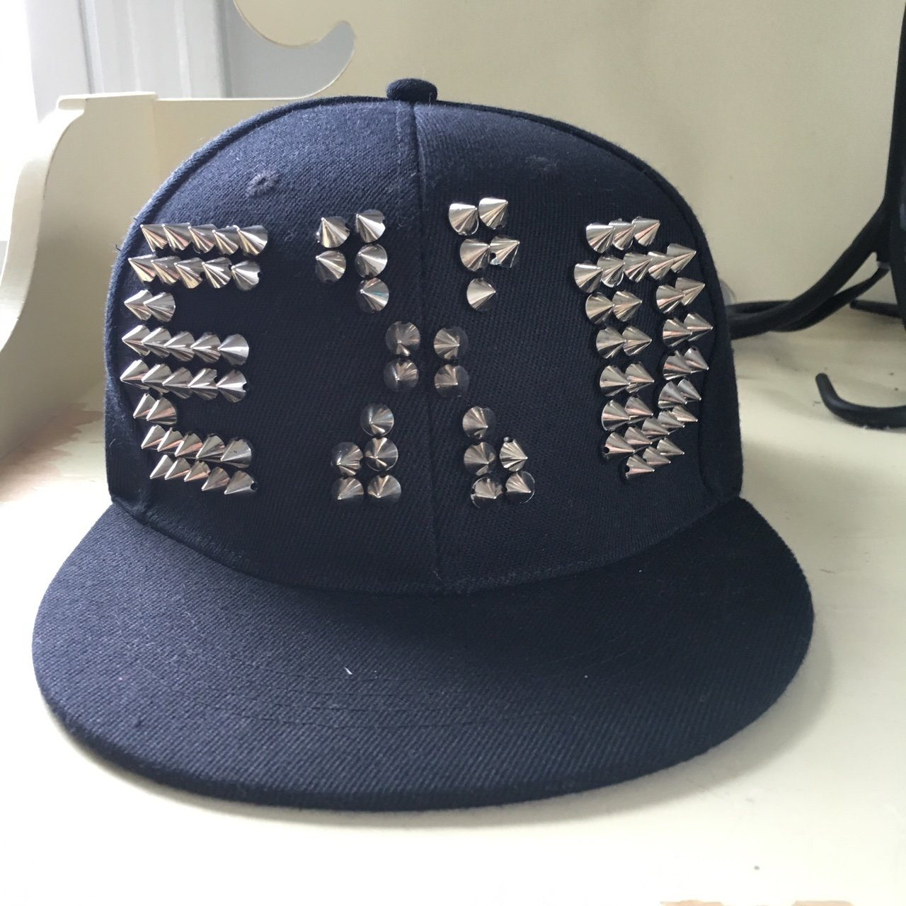 Exo studded SnapBack. Shipping included in the cost!  exo - Depop ada2254bcbb