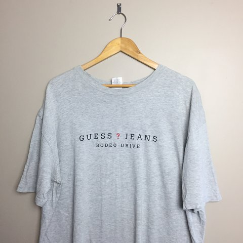 9c2fa693f044 @zdog0408. 10 months ago. Mount Joy, United States. Vintage Guess Jeans tee.  In good condition ...