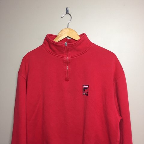 5f46d4564a57 @zdog0408. 9 days ago. Mount Joy, United States. Vintage Fila Quarter-zip  sweater.