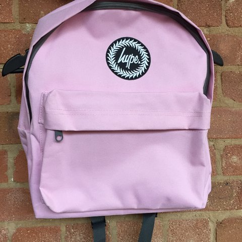 HYPE. Baby pink backpack New with tags - Depop 465939a5a9f98