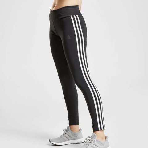 9a2e6bf0ed18c Adidas 3 stripe climalite leggings... paid £33 from JD, for - Depop