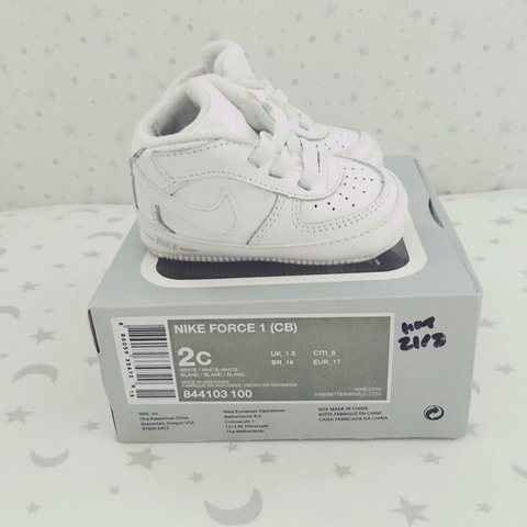 ad8097c0a722 Perfect condition Nike Force • Size 1.5 (approx 0-6months) • - Depop