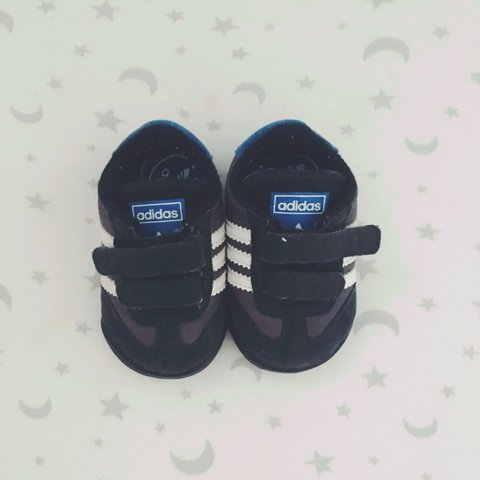 25f425811400 Baby Boy Adidas trainers • Size 2 (approx 3-9months +) • • • - Depop