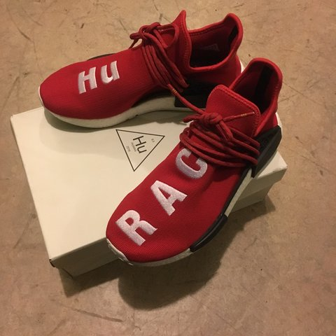 d0858856d2c35 WTS Adidas Originals x Pharrell Williams Human Race (Hu Red. - Depop