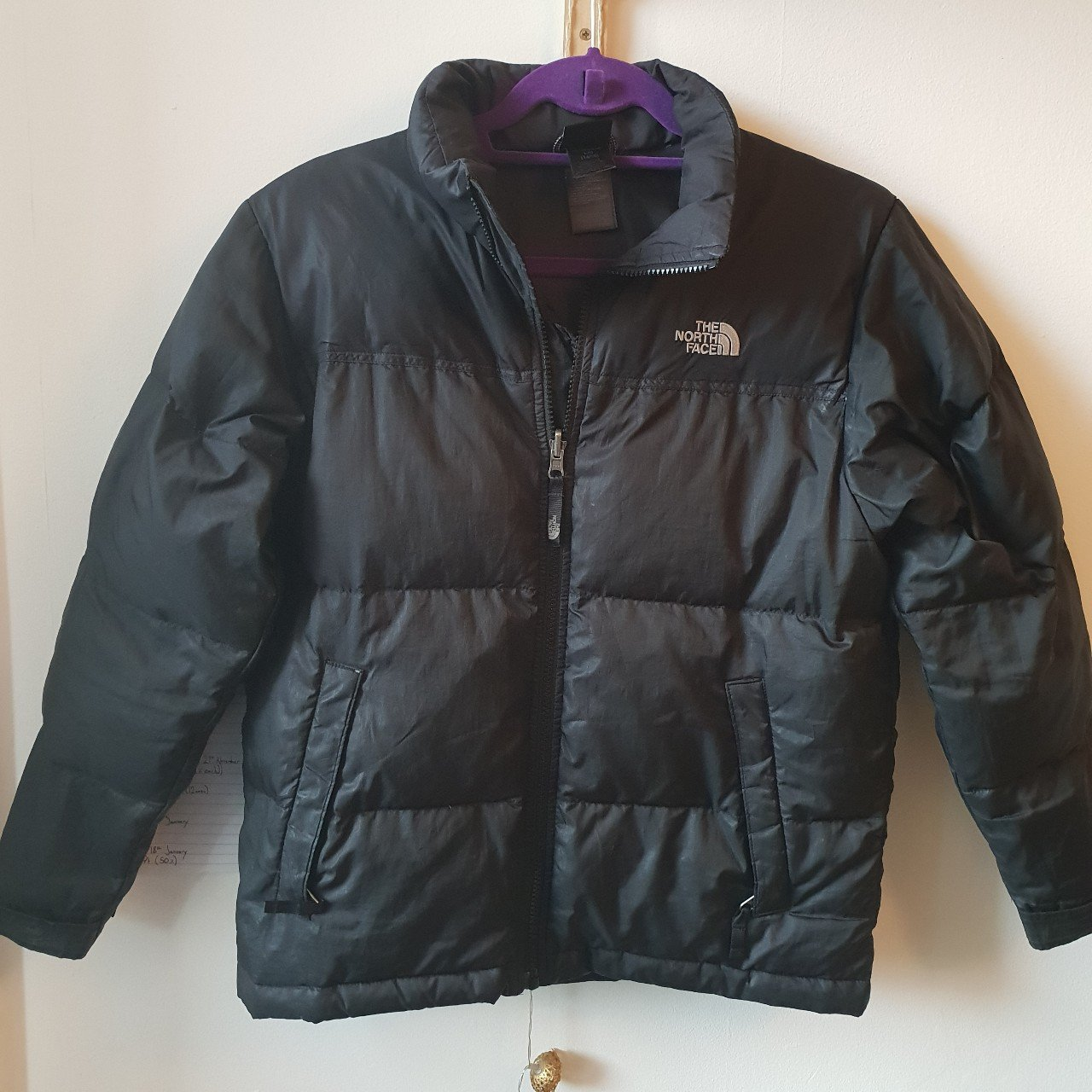Black north face puffer jacket 550 fill! Boys L but would a - Depop 137ff2657
