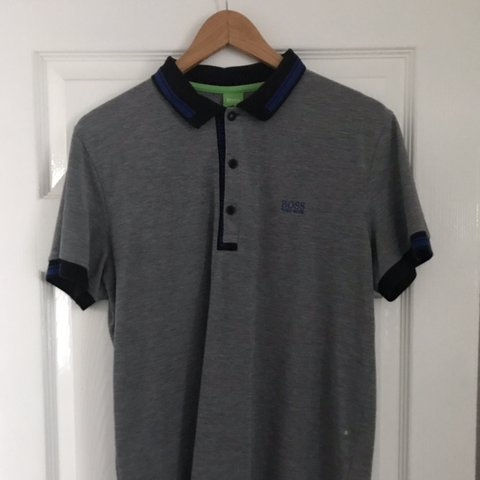 c0c242950 @georgiag16. 4 months ago. Liverpool, United Kingdom. Men's HUGO BOSS slim  fit polo. Size L. Perfect condition.
