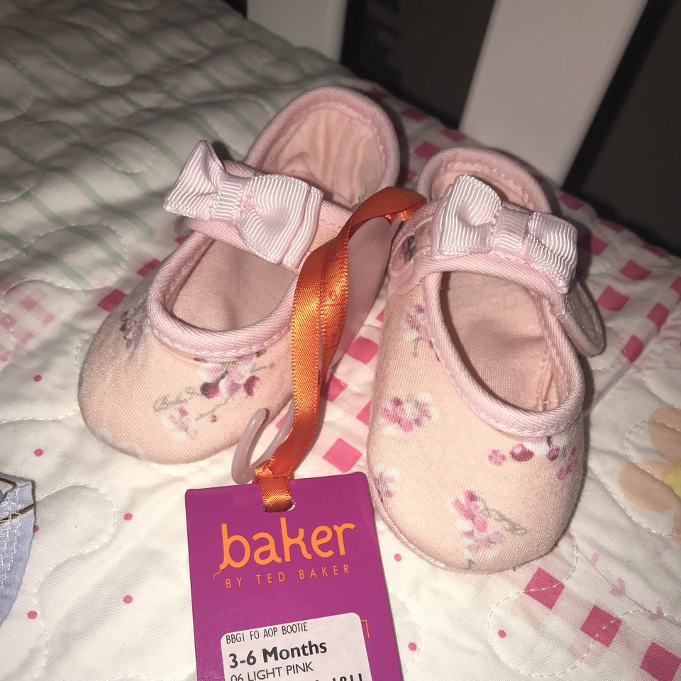 Ted Baker Baby Girls Shoes 3/6 Months