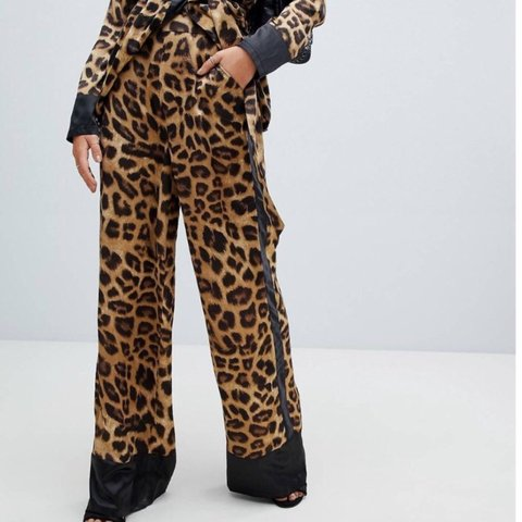 5fcdf4c346fb @mollyford99. 6 months ago. Stockport, United Kingdom. MISSGUIDED LEOPARD  PRINT TROUSERS SOLD OUT ONLINE