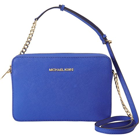 0c75696eef59 @eerinkate. 2 years ago. United Kingdom. Michael Kors / electric blue small  crossbody ...