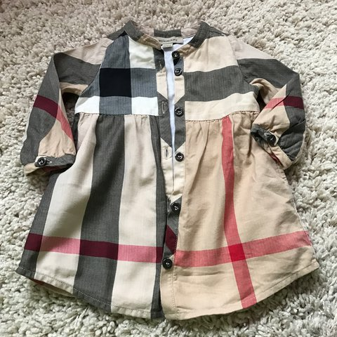 4853cb2debece @atxx. 2 years ago. Glasgow, UK. Baby girl Burberry dress perfect condition aged  6 months ...