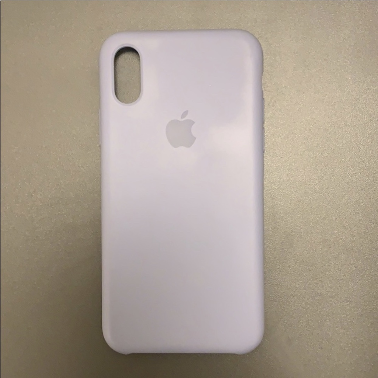 lavender grey iphone xs case
