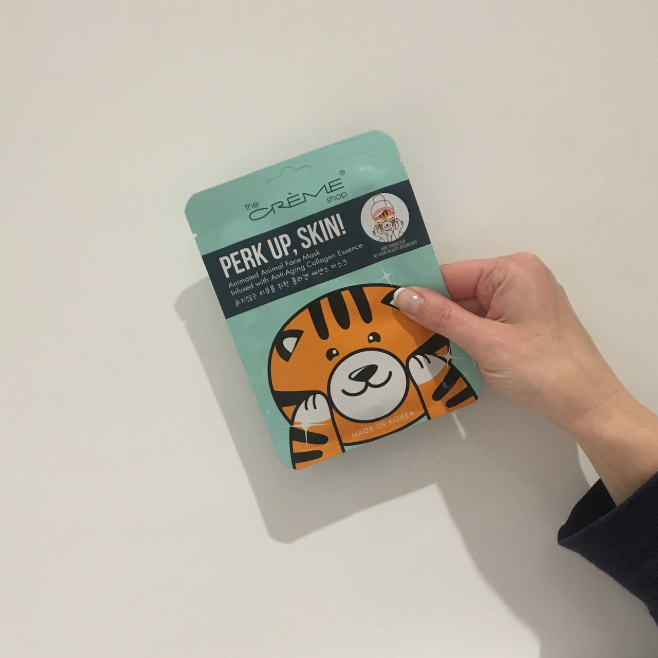 Cute Korean face mask, which looks like a tiger  So    - Depop