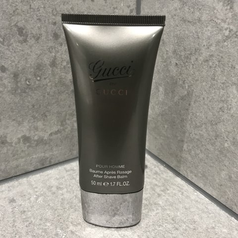 bce48acea4b Gucci by Gucci Pour Homme - After Shave Balm 50ml New and - Depop
