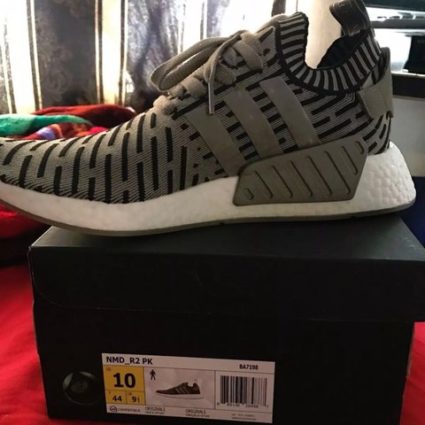 4c5ff5020 PRICE REDUCED  Mens Adidas NMD R2 Primeknits Size 10! Sold - Depop