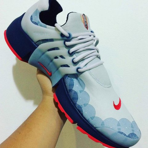 new style 97d19 97ebe Nike presto Olympic pack size- 0