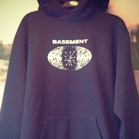 Basement Further Sky hoodie Bought from their show in last Depop