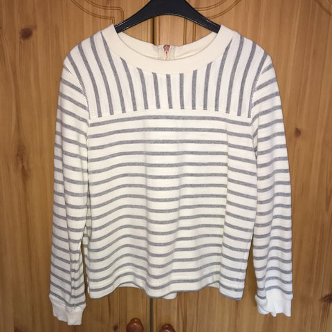 bee0d7e2ce Reduced to £3! - Tesco F&F striped jumper - Only worn Size - Depop