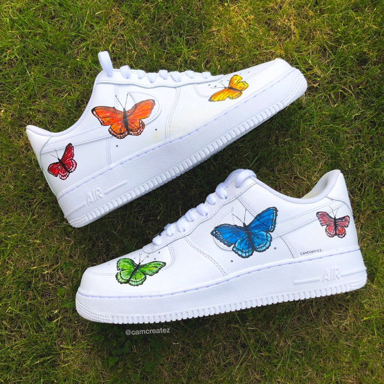 nike air force 1 butterfly
