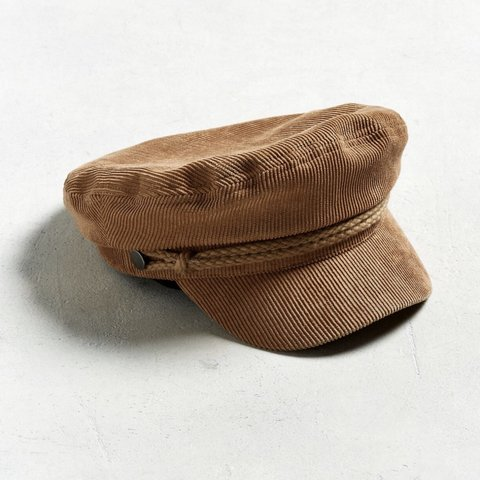 a268c7f4c8546 Corduroy baker boy hat from Urban Outfitters! Still has the - Depop
