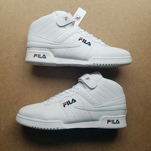 4a8ebfb2cba @nikkles. 2 years ago. London, UK. White Fila Trainers Mens Uk size 11.  These trainers are brand new ...