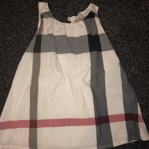 51db260a0 Burberry Baby Dress 6 months Excellent condition, only worn - Depop
